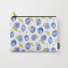Summer Plums Carry-All Pouch