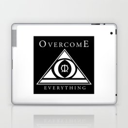 Over Come Everything Laptop & iPad Skin
