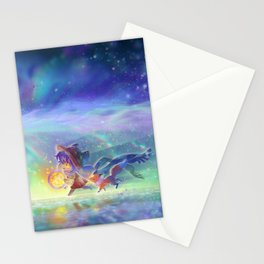 OneShot - Niko, Rue, and you Stationery Cards