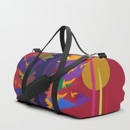 Mountain Scene #9 Duffle Bag