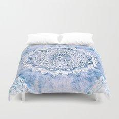 BLUE SKY MANDALA Duvet Cover