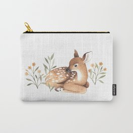 Meadow and Fawn Carry-All Pouch