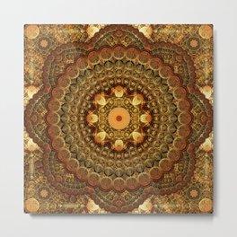 The Astrologers Lab Mandala Metal Print