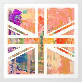 Pastel Britannia Art Print