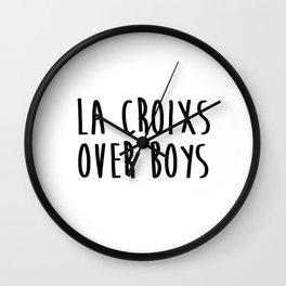 La Croixs Over Boys Wall Clock