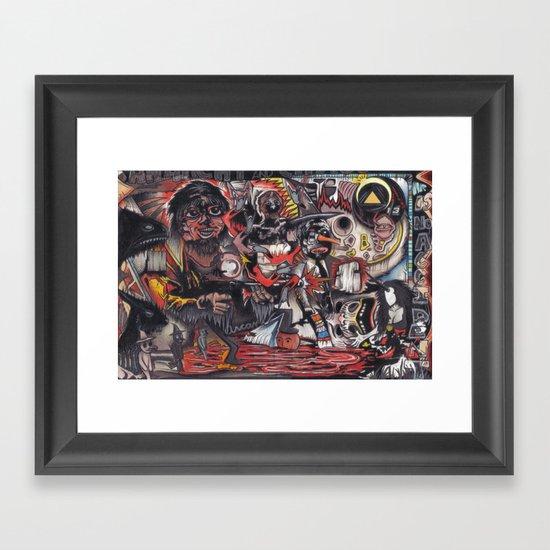 Urban Legend Framed Art Print