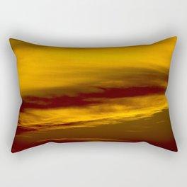 Evening Sky in Minnesota Rectangular Pillow