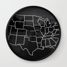 Ride Statewide - USA Wall Clock