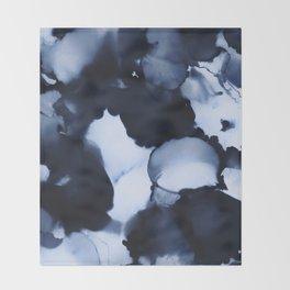 BLUE INK 22 Throw Blanket