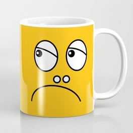Grumpy face Coffee Mug