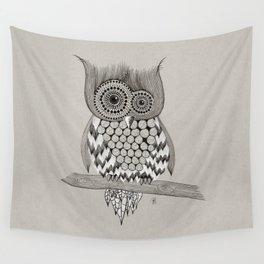 Rupert Owl Wall Tapestry