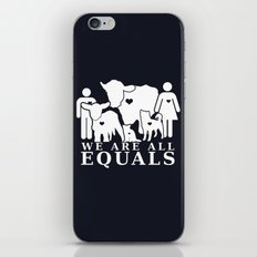 Earthlings Inverse colors iPhone & iPod Skin