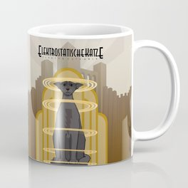 Elektrostatische Katze [Staticat] Coffee Mug