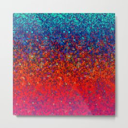 Glitter Dust Background G172 Metal Print