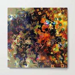 Waves of Vision Metal Print