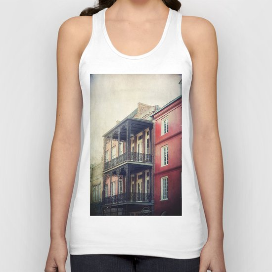 French Quarter Unisex Tank Top
