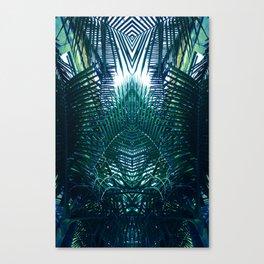 Jungle gate Canvas Print