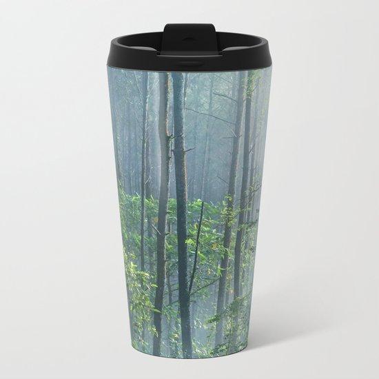 Enchanted Woodland Metal Travel Mug