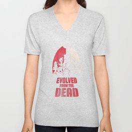Evolved from the Dead Unisex V-Neck