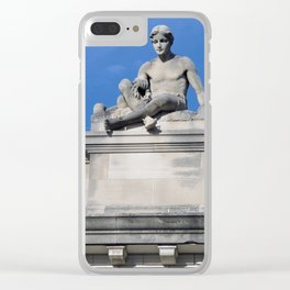 Above It All Clear iPhone Case