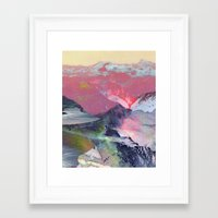 tchmo Framed Art Prints featuring Untitled 20100401 (Landscape) by tchmo