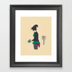 C.O.D Framed Art Print