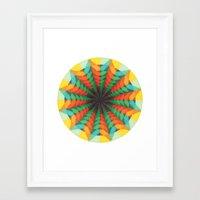 iris Framed Art Prints featuring Iris by Anai Greog