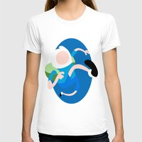 finn T-shirts featuring Finn by Polvo