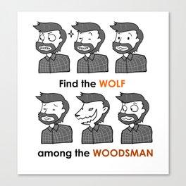 Mez The Woodsman Canvas Print