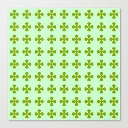 Leaf clover 2 Canvas Print