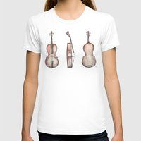 cello T-shirts featuring Cello by Mike Koubou