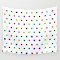 polka Wall Tapestries featuring POLKA by Rceeh
