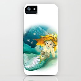 How mermaids get new books iPhone Case
