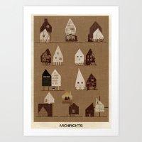 ARCHIRIGHTS-01 Art Print