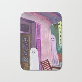 ghost house Bath Mat