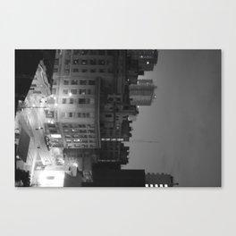 Midnight city manifiesto Canvas Print