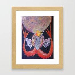 M Soles Framed Art Print