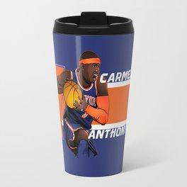 NBA Stars: Carmelo Anthony Travel Mug