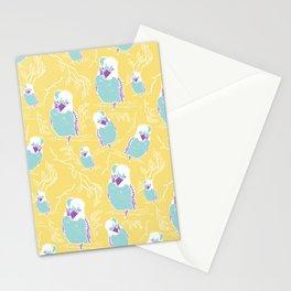 Quirky Kookaburra bird cartoon illustration Stationery Cards