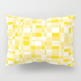 Mod Gingham - Yellow Pillow Sham