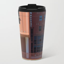 Woman in red Travel Mug