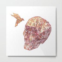 Fragile Metal Print
