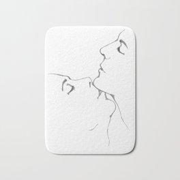 Kiss kiss kiss Bath Mat