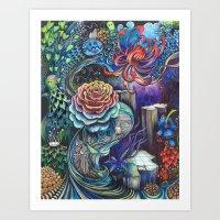 7eme dimension  Art Print