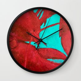 Lobster, Claws for Celebration Wall Clock