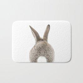 Bunny Tail Bath Mat