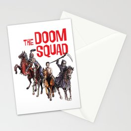 Doom Squad Stationery Cards