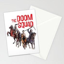 Doom Squad Stationery Cards