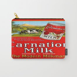 Vintage poster - Carnation Milk Carry-All Pouch
