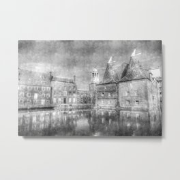 Three Mills Bow London Vintage Metal Print